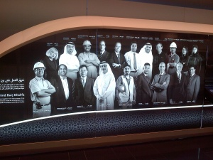 Some of the people behind the conception & building of the Burj Khalifa!