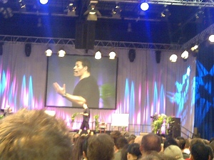 Tony Robbins- doing his thing! UPW will always be one of the fondest memories I have! UPW, Excel Centre London May 2012