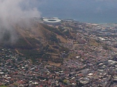 Look at the beautiful Cape Town stadium
