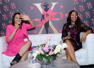The delectable Mrs. Claire Omatseye & the delectable Mrs. Udo Okonjo- Visionaire and Founder WOW D.I.V.A.S.  photograph by Bash photography ( book Bash for your events- you will love the photos he takes. Call him on 07032818075).