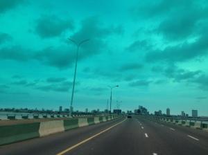 Third Mainland Bridge, Lagos...
