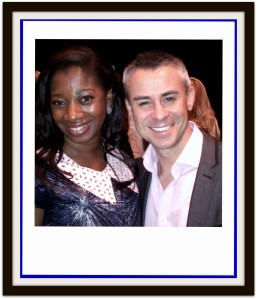 Andy Harrington & I at the Success Summit in South Africa March 2013