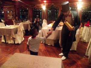 The Magician on the Dhow!