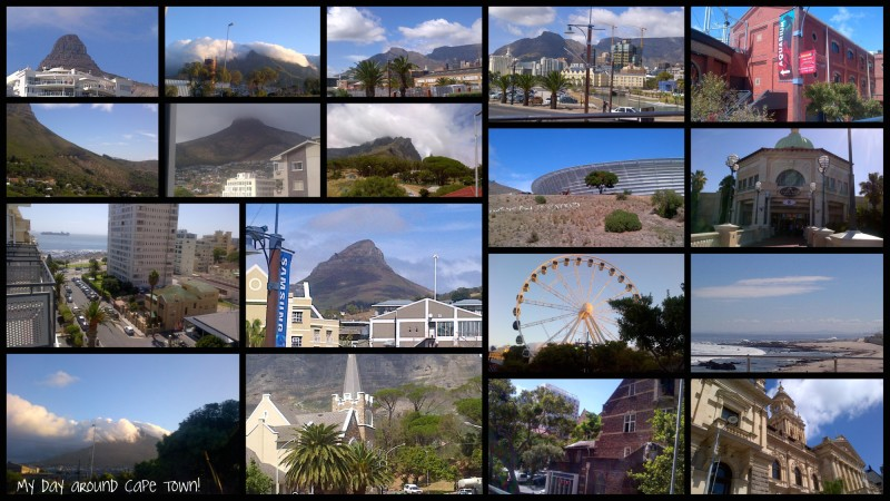 My day around Cape Town