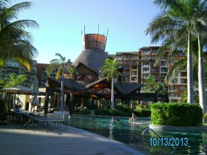 The beautiful Villa del Palma hotel, Cancun!