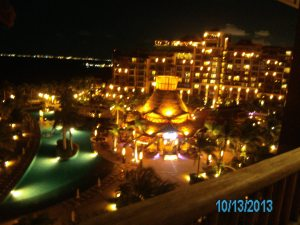 Villa del Palmar at night! Breath-taking!