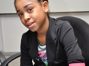 The little Miss Zuriel Oduwole