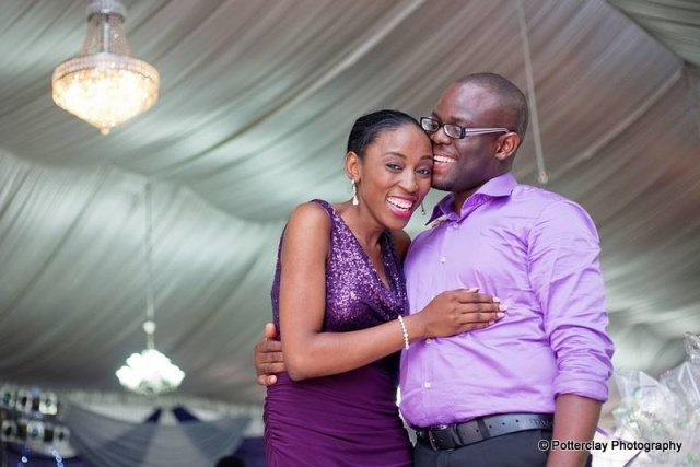 Seun and his lovely wife- Aanuoluwapo!