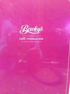 We were hungry when we got in and went to Bewley's for breakfast. It turned out to be one of the best decisions we made that day, you'll see why below.