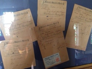 Customer letters and orders from between 1916 and 1917