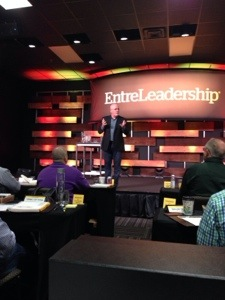 Dave Ramsey, sharing his play book with us at EntreLeadship Master Series