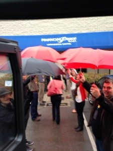 """On this occasion, it was raining as we got to the conference centre, the Entreleadership Team did not just hand out umbrellas or expect us to sprint, they formed this line of human umbrella canopies for us to pass through. For once I truly understood """"the devil is in the details"""". This was so beautiful, kind and poetic..."""