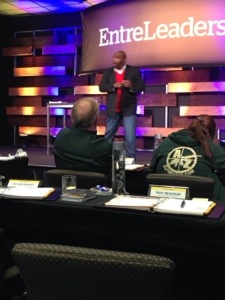 Chris Hogan teaching. Do you listen to the Entreleadership podcast on iTunes? You should, great free education from not only Dave and his team but from top business people in every field of endeavour
