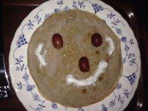 Mummy's attempt at a creative breakfast