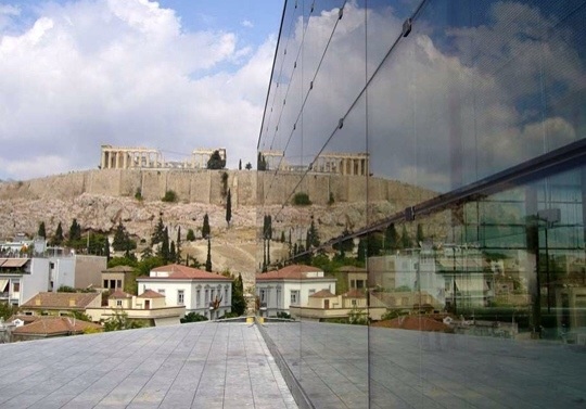 The Acropolis, Athens, Greee