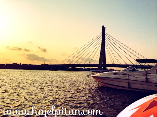The Lekki-Ikoyi bridge, of lines, vines and beautiful days...