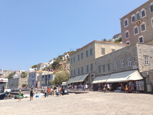 On to the Island of Hydra! Hydra is a UN World Heritage Site!