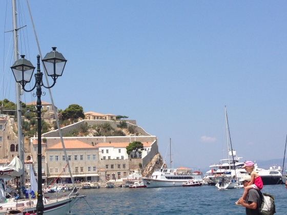 The harbor in Hydra. Now off to Aegina...