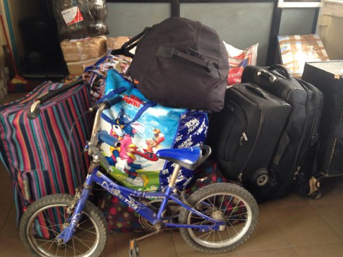 Items sent to the Red Cross for on-ward distribution to the camps in Adanmawa