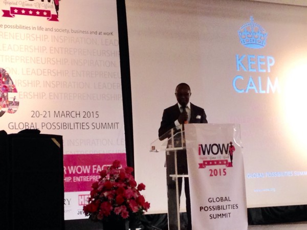 Dr. Kachikwu at iWOW