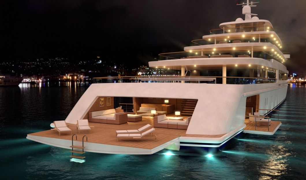 "My ""World of Residensea"" type ship. Courtesy Google images"