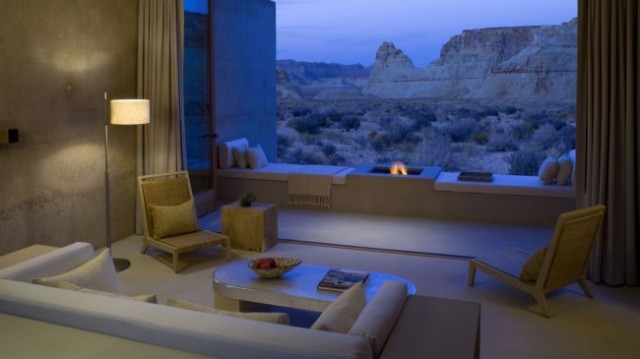 View from one of the rooms at the Amangiri Resort in Utah! Oh, what living I promise to do when there...